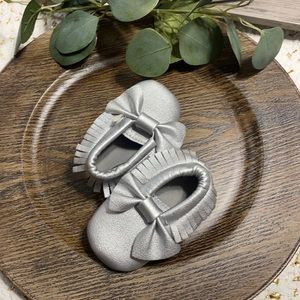 MIYUEBB baby shoes SILVER